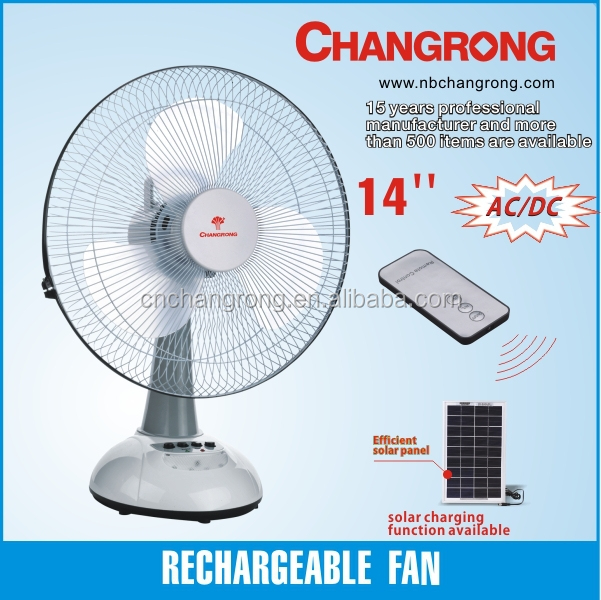 Cr 8114 Rechargeable Emergency Led Light Fan With Great