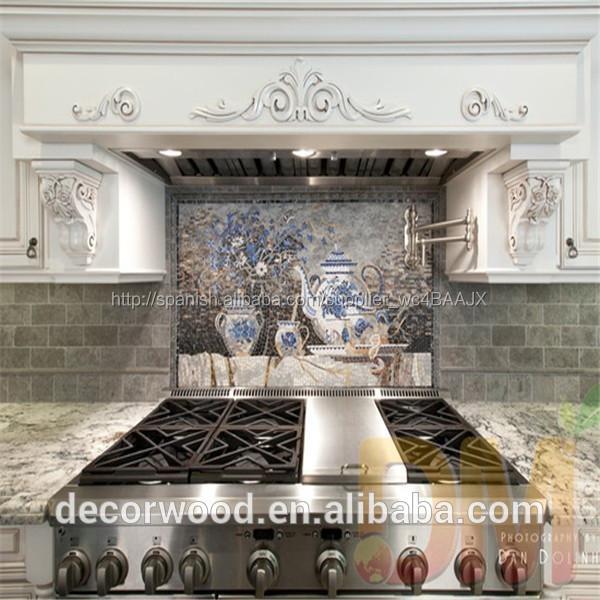 Muebles de cocina de madera maciza estilo europeo f brica for Muebles de cocina estilo brocante