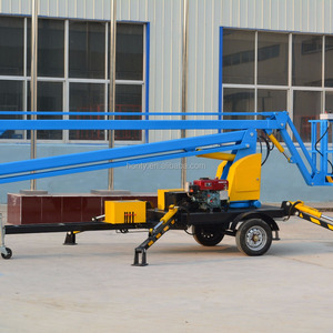 Crawler Mounted Spider Boom Lift Price, Wholesale & Suppliers - Alibaba