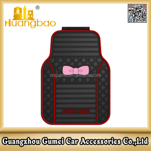 Universal car mat for Eden park pink car mat latex car mat