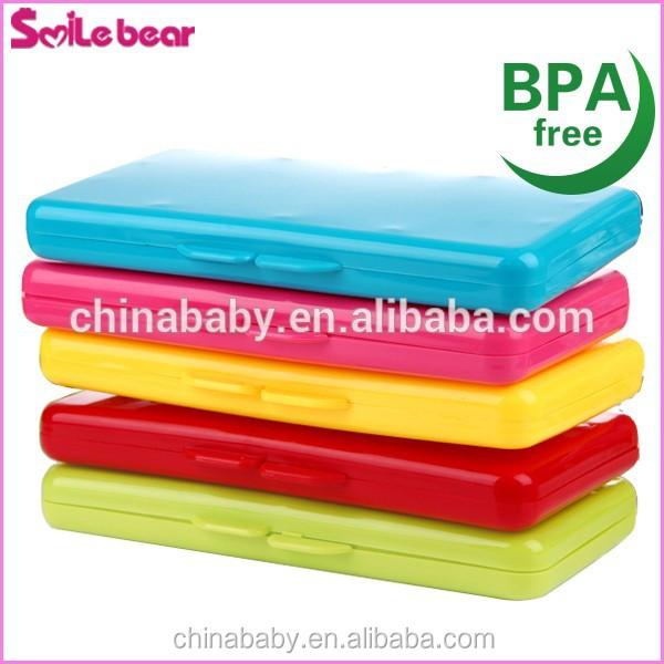 Smile Bear Customer Logo Print Bpa Free Wet Wipe Case Pp