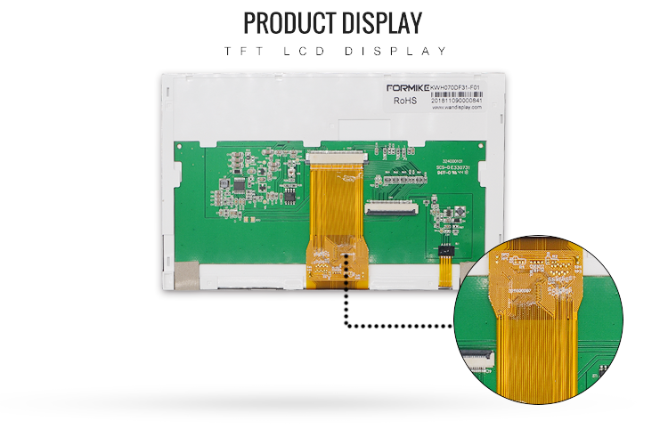 7 inch lcd display with controller board