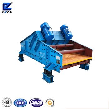 Wet sand dehydrating equipment crushed limestone vibrating dewatering screen