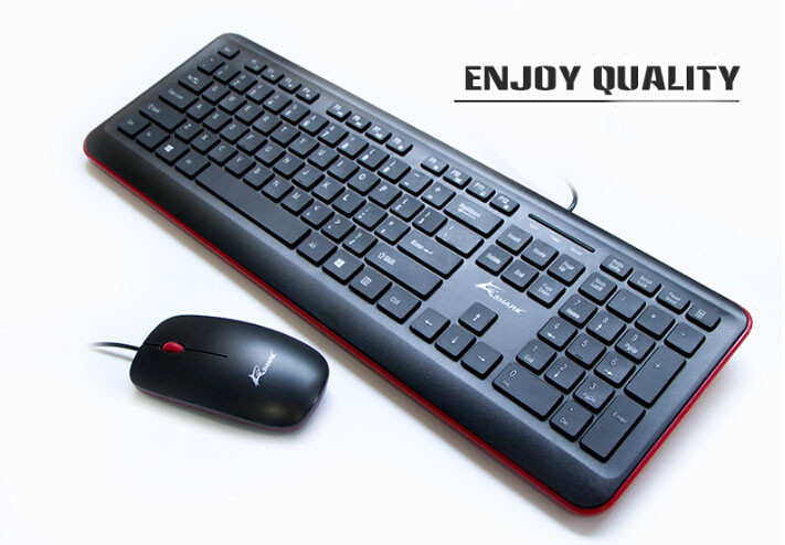 Computer wireless keyboard 2.4G keyboard mouse combos teclados for office keyboard
