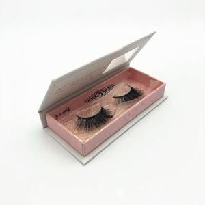 human hair mink eyelashes private label customer colorful lashes