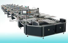 Screen printing oval automatic textile screen printer,T-shirt screen printing machine full automatic