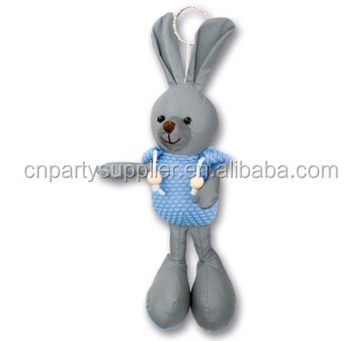 Reflex Doll Reflective Soft Toys Keychain,Reflector Rabbit Plush Toys
