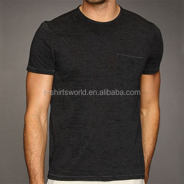 Competitive price best quality cotton polyester blend t shirt wholesale