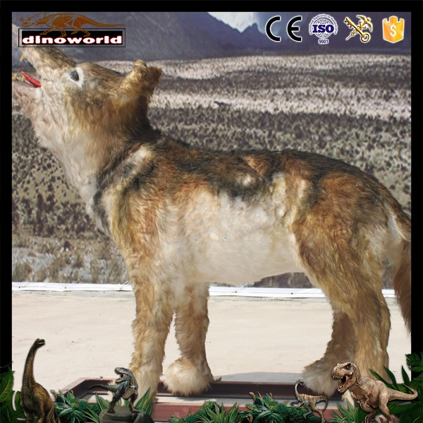DW-0520 Top Quality Realistic Life Size Animated Wolf