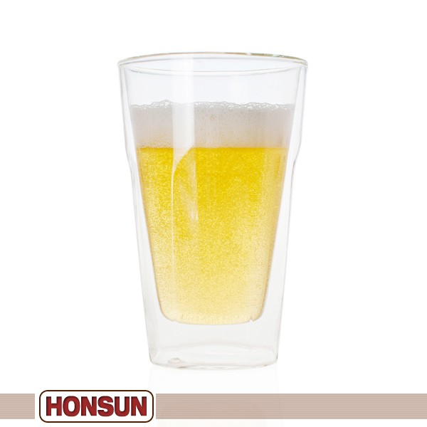 Las Vegas ASD/AMD Trade Show Invited double wall glass wholesale 2012 hot selling bar beer glass cup