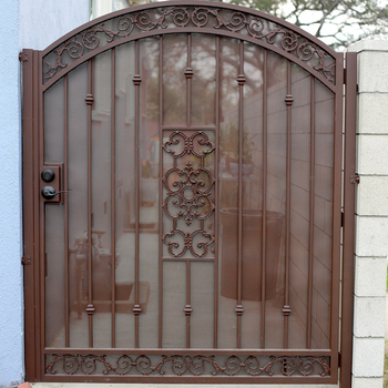 Spear Top House Security Door Gate Design / House Iron Door Gate Design