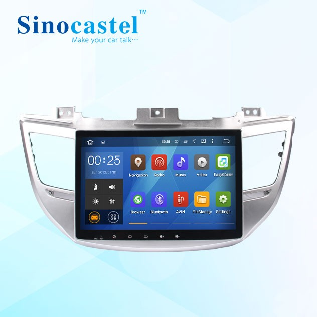 2 DIN Car Radio for Hyundai ix 35 tucson 2015 with Steering Wheel Control Bluetooth SD USB Dvd Gps Navigation Car Dvd Player