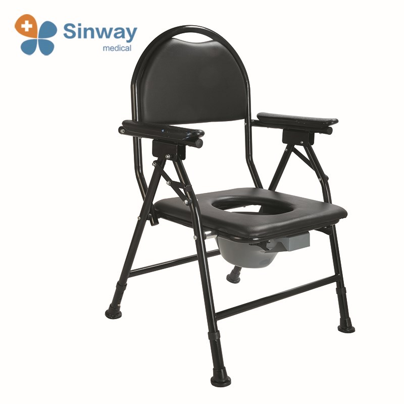 Disabled Commode Chair For Elderly With Bedpan - Buy Medical Commode ...