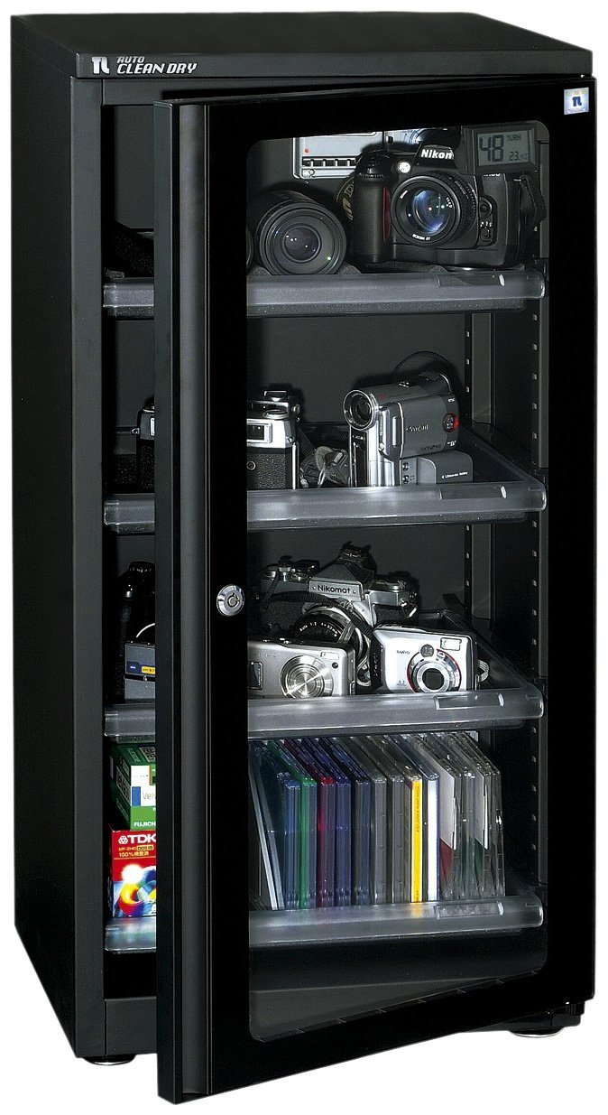 Oriental living auto clean dry moisture proof storage 118L Black ED-120CDB [International Version, No Warranty]