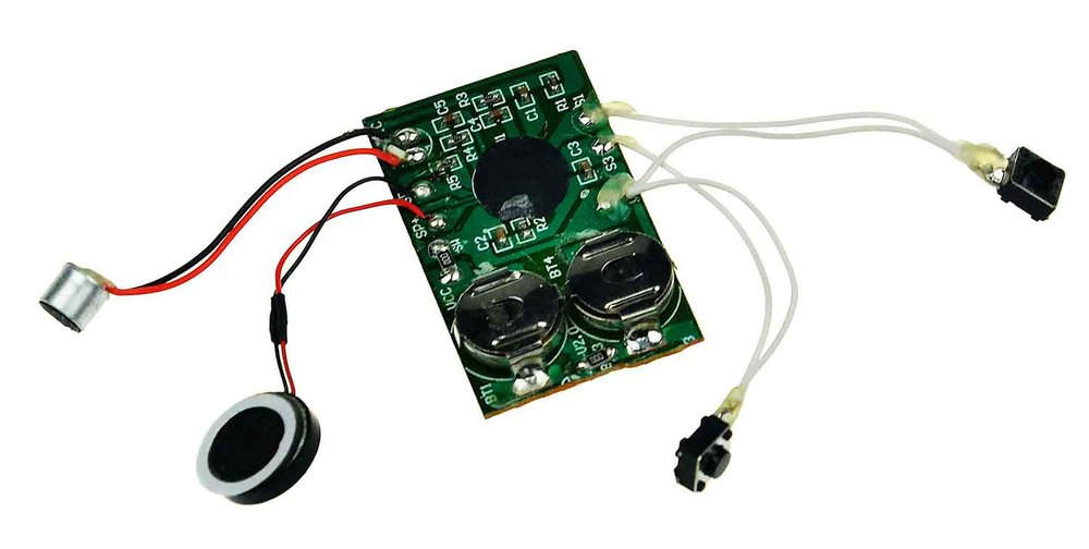Mini Programmable sound ISD for toys