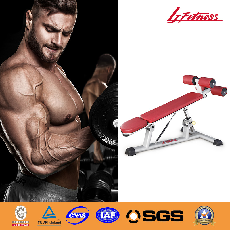 Hot Life Fitness Adjustable Abdominal Incline Decline Bench for Sale LJ-5529-14