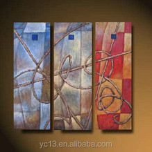 3pcs panel for home decor picture Artwork abstract oil painting on canvas