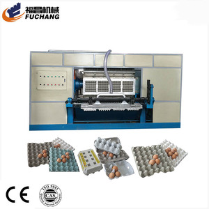 Packing Egg Carton Machine Mini Paper Fiber Plate Making Machine