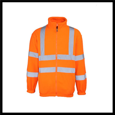 yellow fluorescent waterproof reflective workwear safety coveralls fabric