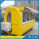 top sell fast food mobile tea vending kitchen trailer / cookie depositor pan ice cream machine van & truck & kiosk / buffet car
