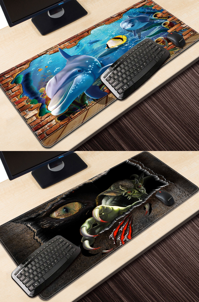 2019 Hot Sale Customized 3D MousePad for Promotion Gifts High Quality Fabric OEM Non Slip Gaming Mouse pad