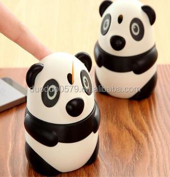 Cy323 Kawaii Créatif Dessin Animé Mignon Panda Porte Cure Dents Automatique Poche Mode Nouveauté Romantique Boîte De Cure Dents Buy Cure Dents De