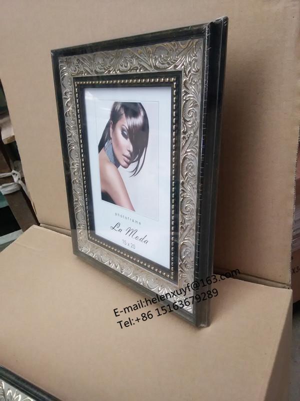 Adornado hermosa chica marco de fotos de plástico 1 dólar Marco 6x8 ...