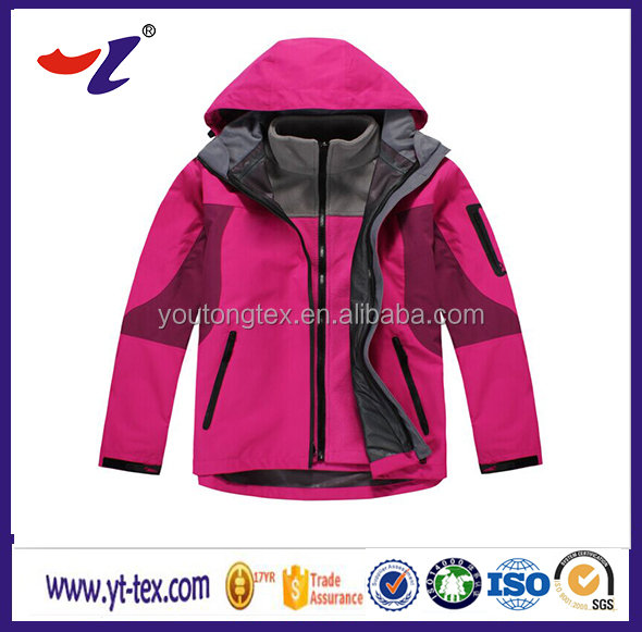 100% polyester breathable windbreak waterproof outdoor jacket