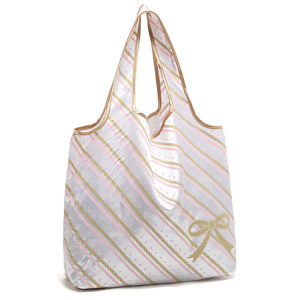 Polyester or nylon pocket folding shopper tote bags