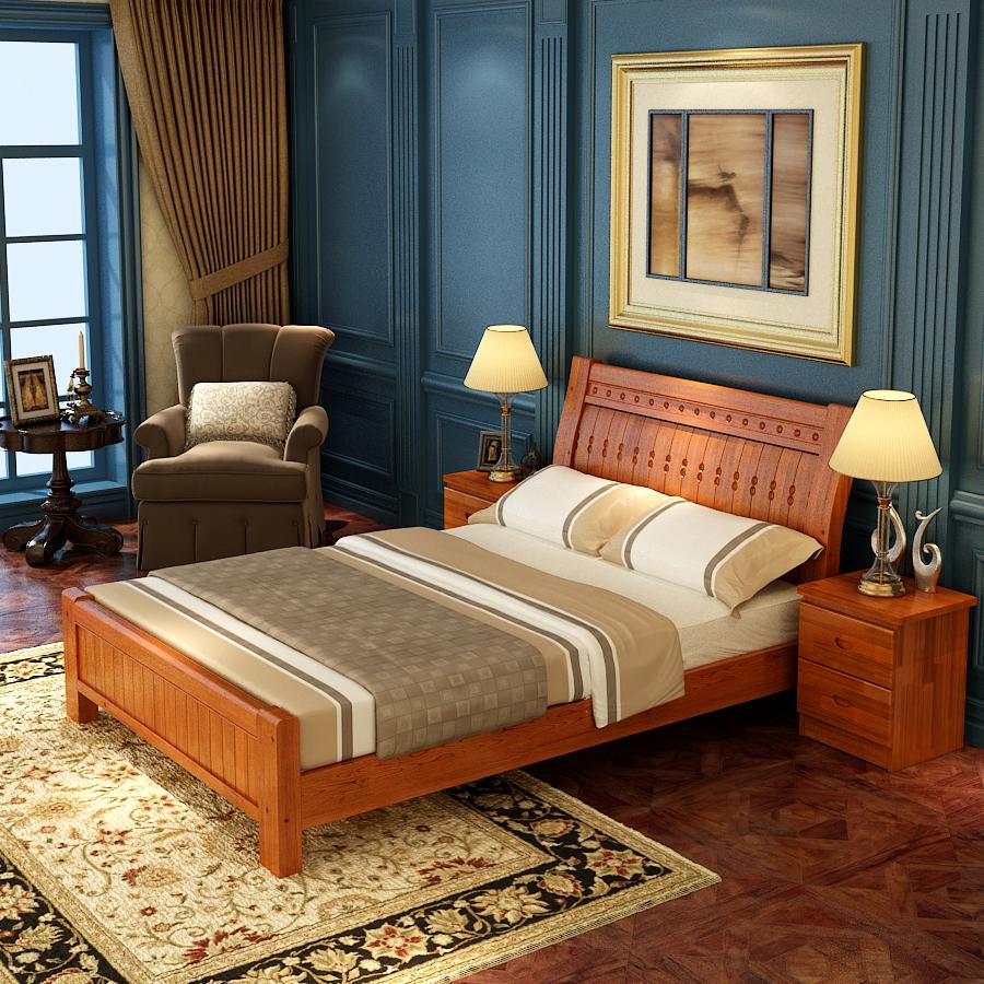 Venta al por mayor camas modernas madera-Compre online los mejores ...