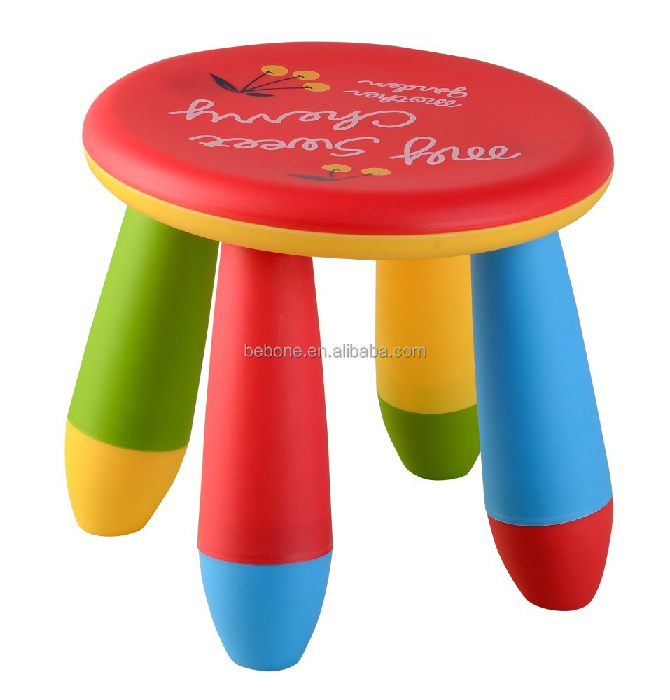 Hot-Selling high quality low price round plastic stool