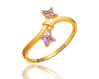 R0478 unique shape 925 silver wedding ring for women