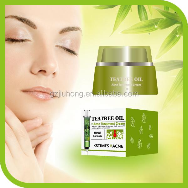 Natural Herbal Formula Tea Tree Oil Anti Acne And Pimple Treatment