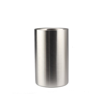 Dia 12cm stainless steel ice bucket for bar use