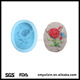 Eco-friendly silicone plant designed soap moulds