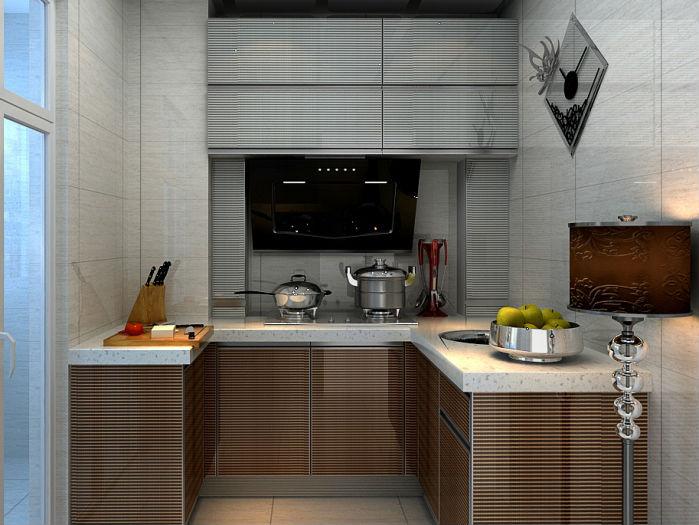 Kabinet Dapur Bentuk U Desainrumahid
