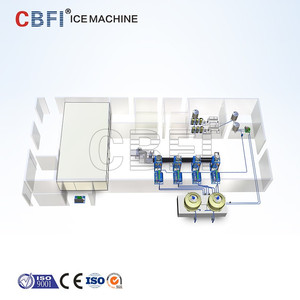 50 ton Commercial Industrial Automatic Packaging Equipment Edible Ice Plant Machine Phillipines Plants Comprehensive Design Sale