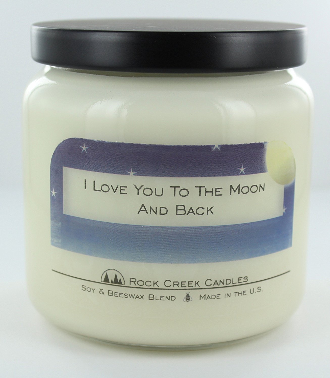 I Love You To The Moon And Back Cinnamon Spice 16oz Soy Candle