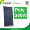 China best PV supplier bluesun poly 270w solar panel photovoltaic solar panel 270 watt