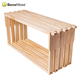 Good quality wood langstroth honey bee hive frames for sale