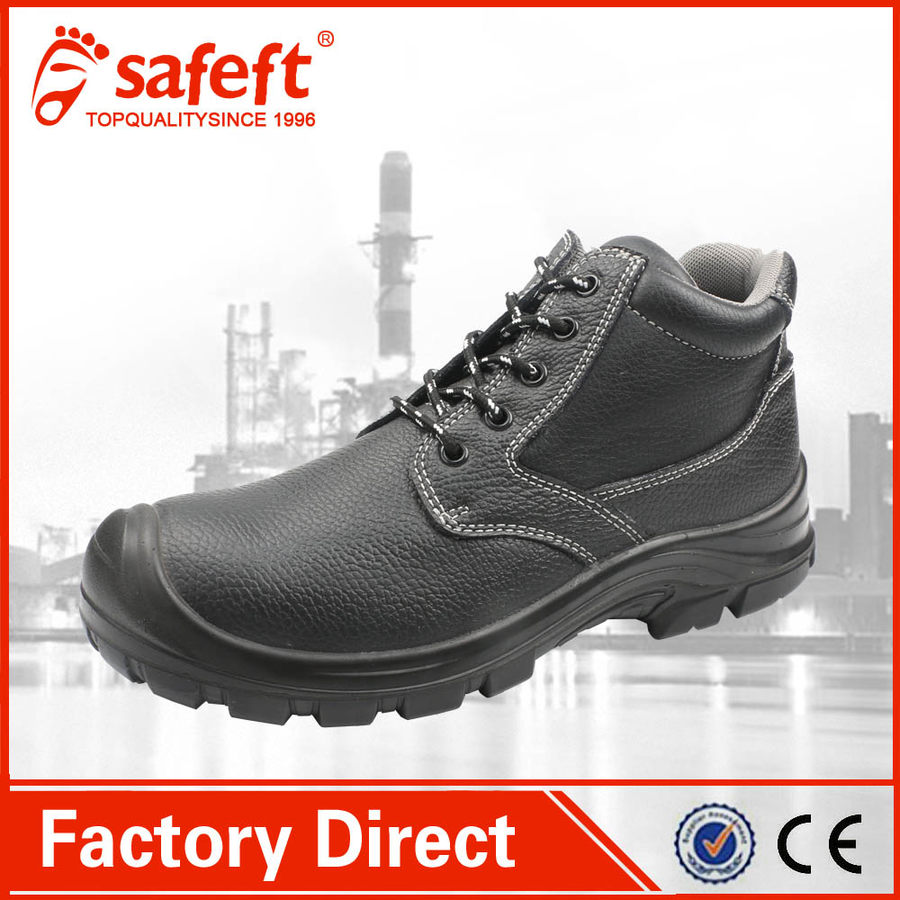 2017 high quality Waterproof safety shoes steel toe Work Shoes