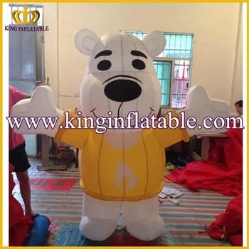 Simpatico orso cartone animato animale scaricare vettori premium