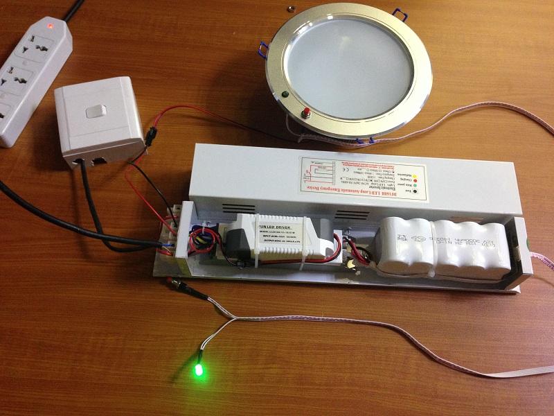 Emergency Light Inverter And Battery Pack Led Emergency