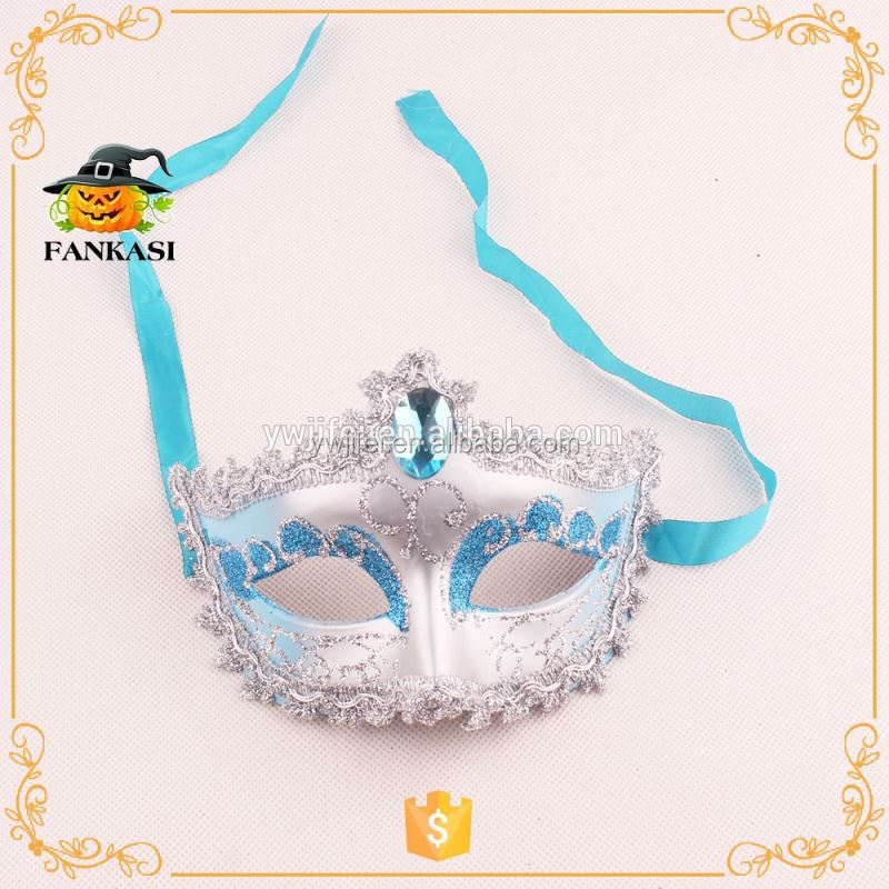 Plastic women party mask masquerade masks
