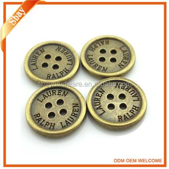 7db24e1f8c New Antique Brass Custom 4 Hole Metal Shirt Button - Buy Metal Shirt  Button,Custom Shirt Button,4 Hole Metal Button Product on Alibaba.com