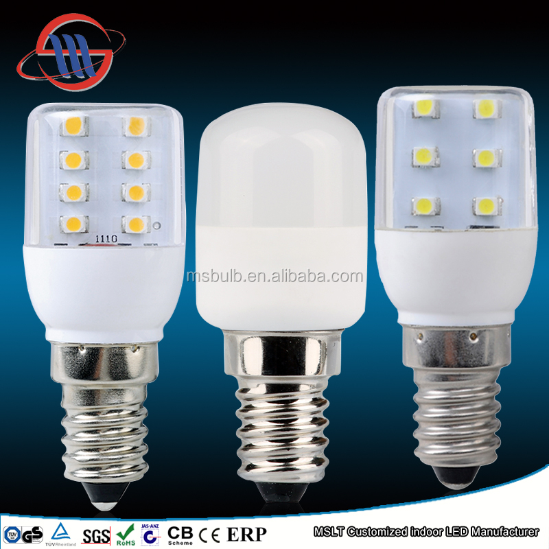 Beautiful CE ROHS approved factory price refrigeration bulb e14 refrigerator fridge bulb