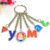 Key Chain Manufacturer Odm Custom Soft Enamel Metal Keychain Lollipop