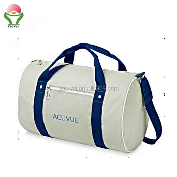 f1f85fc17 new fashion promotional polyester duffel bag,yoga Gym garment bag sports travel  bag