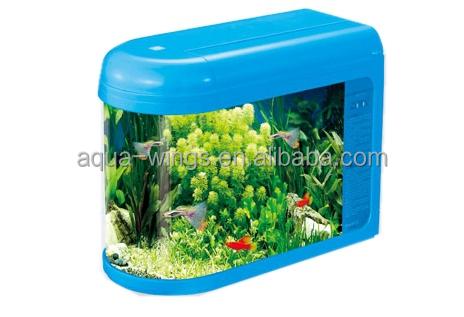 U aquariums tank fashion glass bullet aquarium fish tank for Toy fish tank