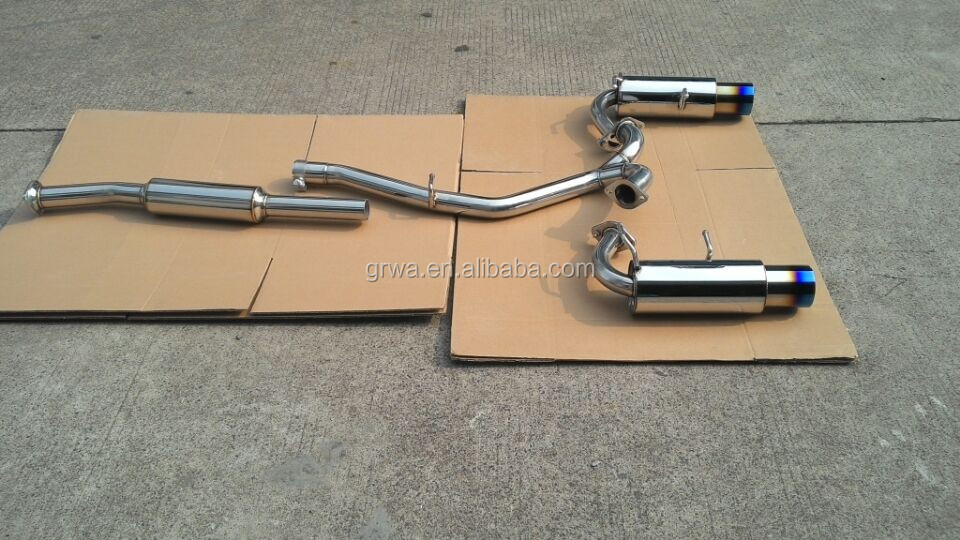 Straight Through Exhaust Systems Suitable for Toyota GT86